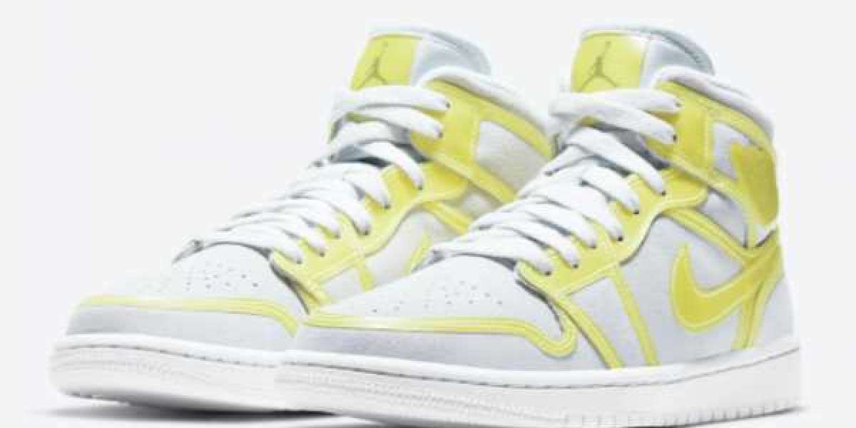 """Air Jordan 1 Mid LX """"Opti Yellow"""" DA5552-107 will be officially released on February 26"""