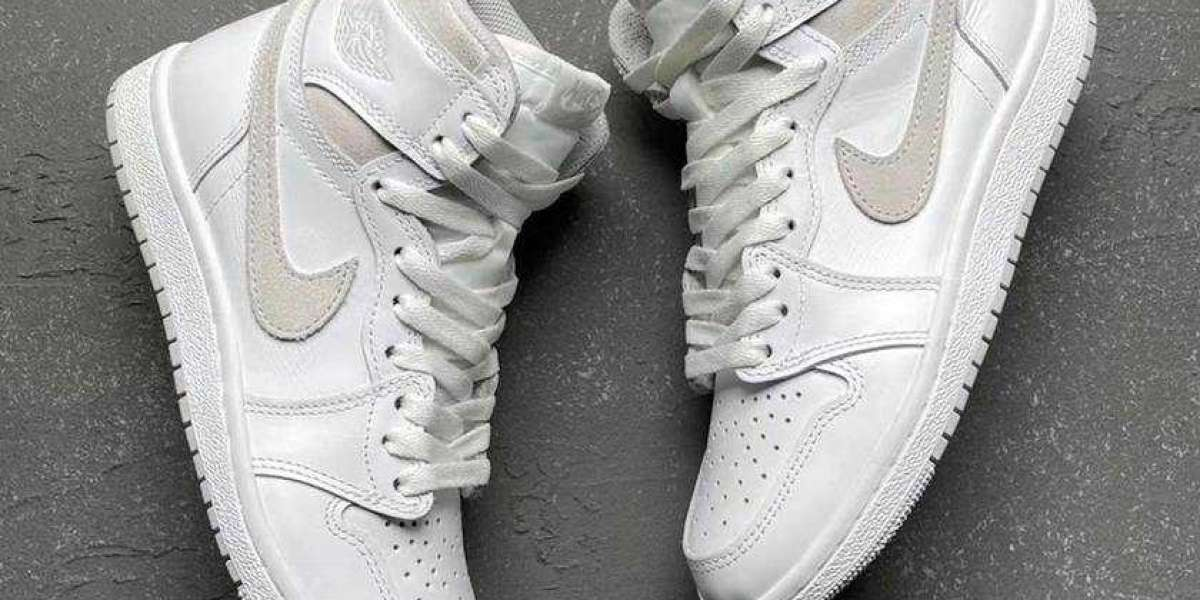 """Air Jordan 1 High 85 """"Neutral Grey"""" BQ4422-100 will be officially launched in February this year"""