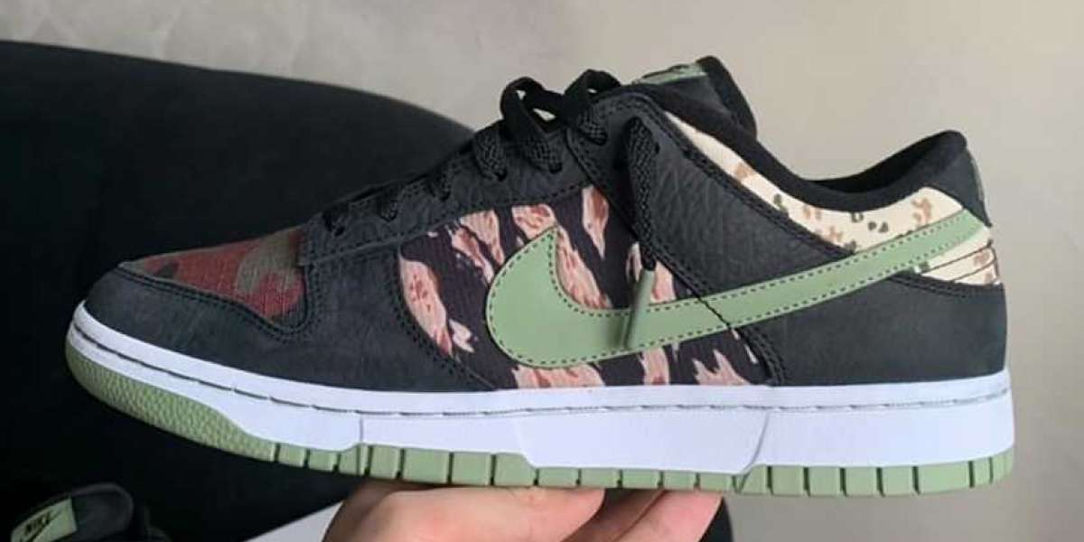 """DH0957-001 Nike Dunk Low SE """"Oil Green"""" will be on sale soon"""