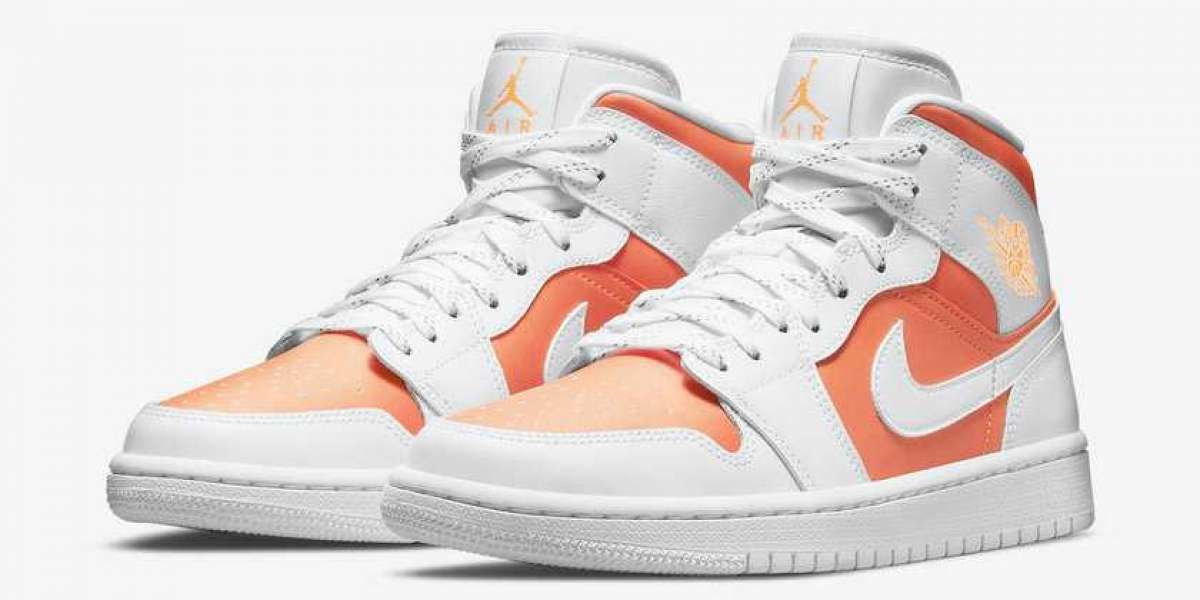 """Air Jordan 1 Mid SE """"Bright Citrus"""" CZ0774-800 is expected to be on sale soon"""