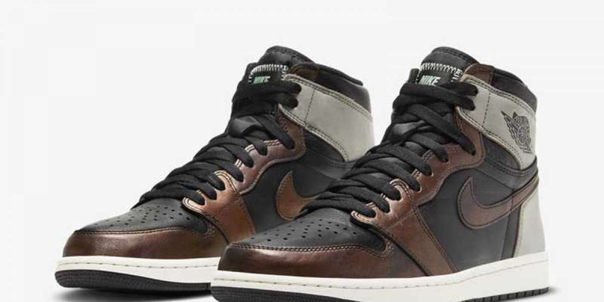 """These Nike Air Jordan 1 High OG """"Patina"""" 555088-033 Shoes Are So Retro!"""