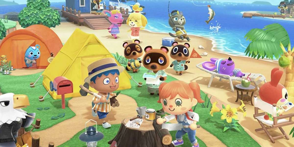 Animal Crossing New Horizons rolled out at a time