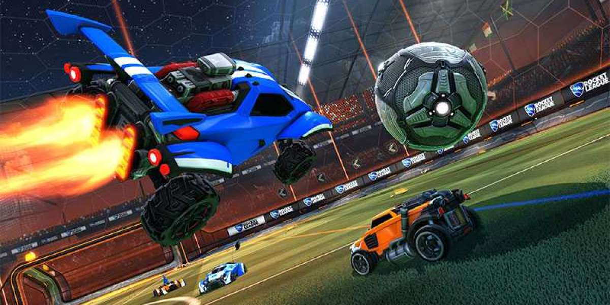 This merchandising is being held to celebrate the Rocket League